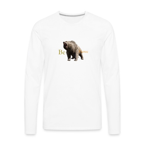 Fierce - Men's Premium Long Sleeve T-Shirt
