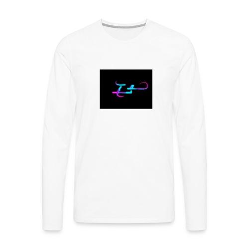 logo animation - Men's Premium Long Sleeve T-Shirt