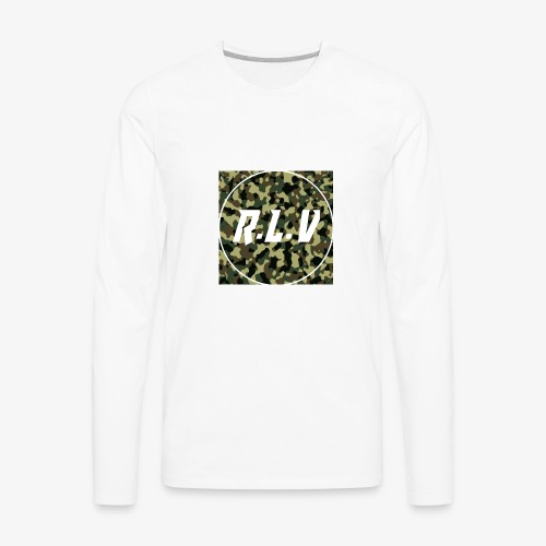 River LaCivita Camo. - Men's Premium Long Sleeve T-Shirt