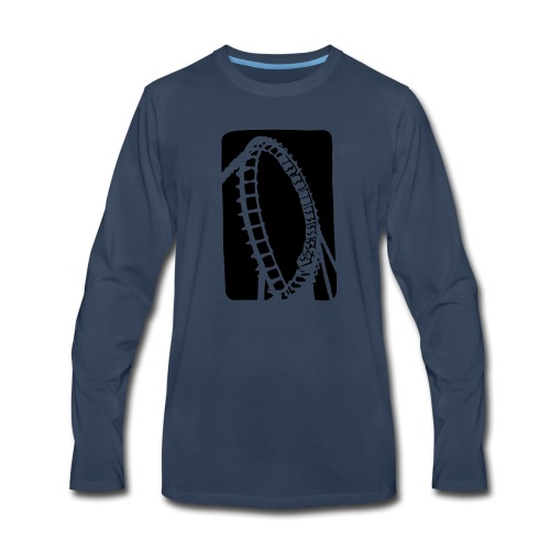 Roller Coaster - Men's Premium Long Sleeve T-Shirt
