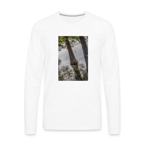 LAKE BIRD - Men's Premium Long Sleeve T-Shirt