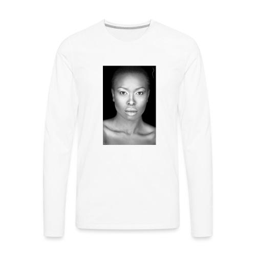 Brave : By Alüong Mangar - Men's Premium Long Sleeve T-Shirt