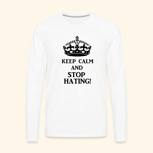 stoph8ingblk - Men's Premium Long Sleeve T-Shirt