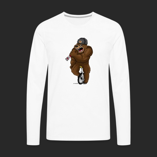 Russian Bear - Men's Premium Long Sleeve T-Shirt