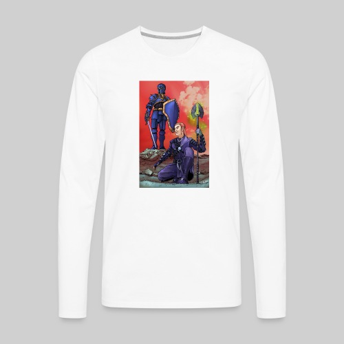 ELF AND KNIGHT - Men's Premium Long Sleeve T-Shirt