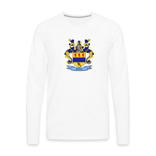 Peffer Family Crest - Men's Premium Long Sleeve T-Shirt