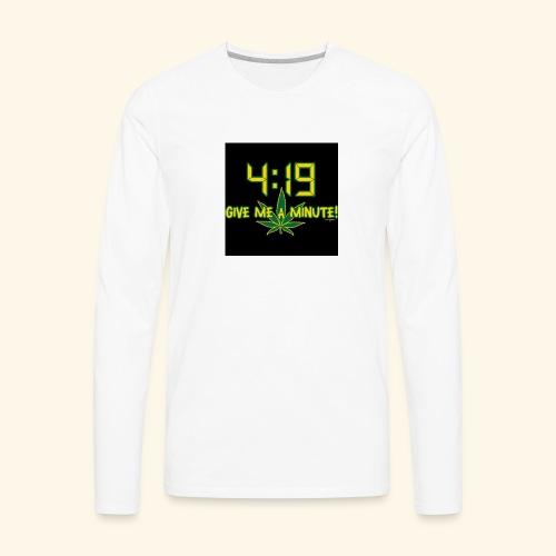 What time - Men's Premium Long Sleeve T-Shirt
