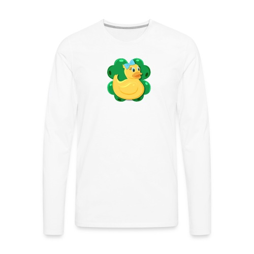 LuckyDuckyLogo - Men's Premium Long Sleeve T-Shirt