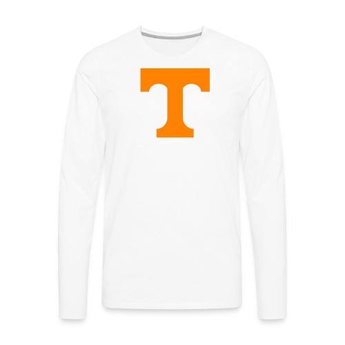 T is for Tennessee - Men's Premium Long Sleeve T-Shirt