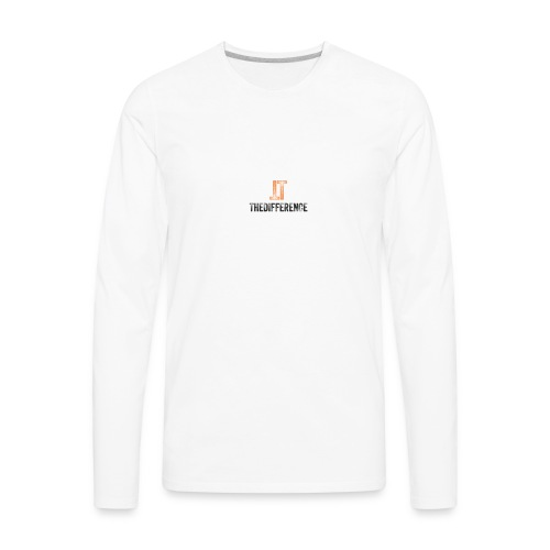 TheDifference01 - Men's Premium Long Sleeve T-Shirt