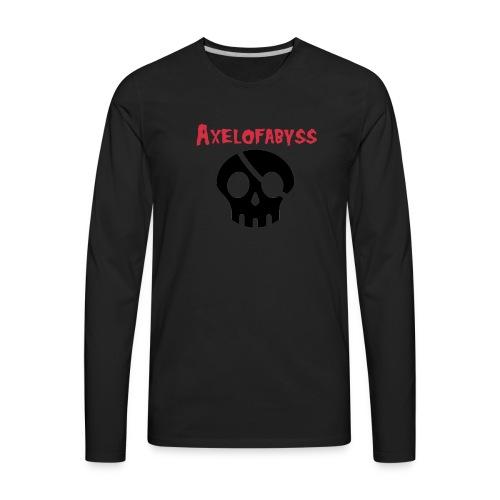 skull pirate 2 - Men's Premium Long Sleeve T-Shirt