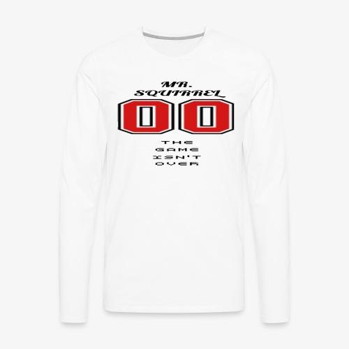 The game isn't over - Men's Premium Long Sleeve T-Shirt