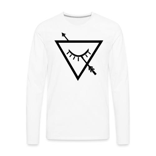 Urban Roots Symbol Black - Men's Premium Long Sleeve T-Shirt