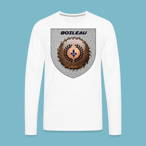 BOILEAU 1 - Men's Premium Long Sleeve T-Shirt