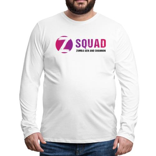 Z SQUAD LogoBLACK - Men's Premium Long Sleeve T-Shirt