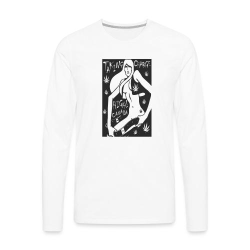 tees_three - Men's Premium Long Sleeve T-Shirt