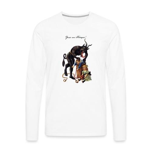 Krampus - Men's Premium Long Sleeve T-Shirt