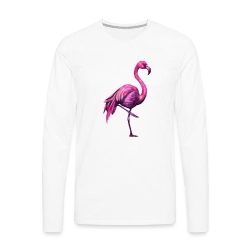pink flamingo - Men's Premium Long Sleeve T-Shirt