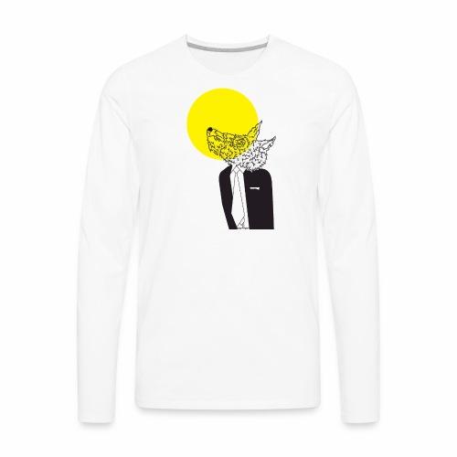 Wolf in Men's Clothing - Men's Premium Long Sleeve T-Shirt