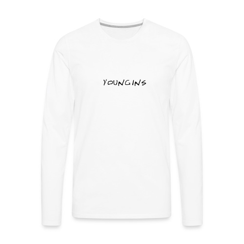 yy - Men's Premium Long Sleeve T-Shirt
