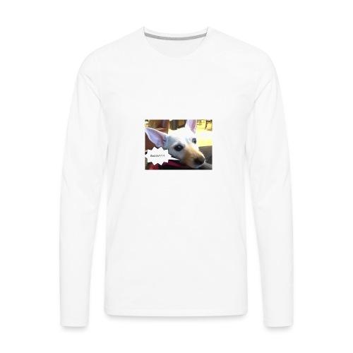 I smell bacon - Men's Premium Long Sleeve T-Shirt