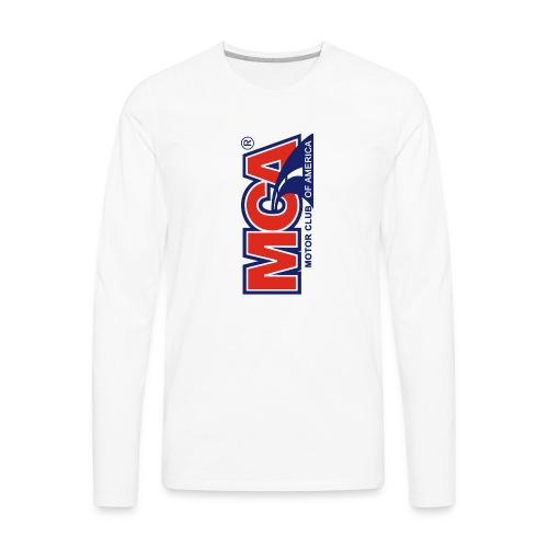 MCA Logo Iphone png - Men's Premium Long Sleeve T-Shirt