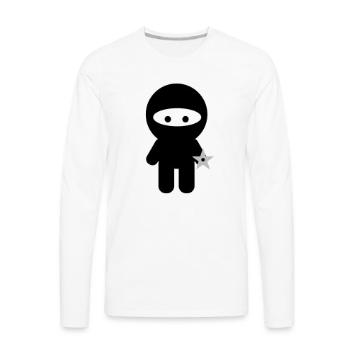 Ninja Boy - Kids Tee - Men's Premium Long Sleeve T-Shirt