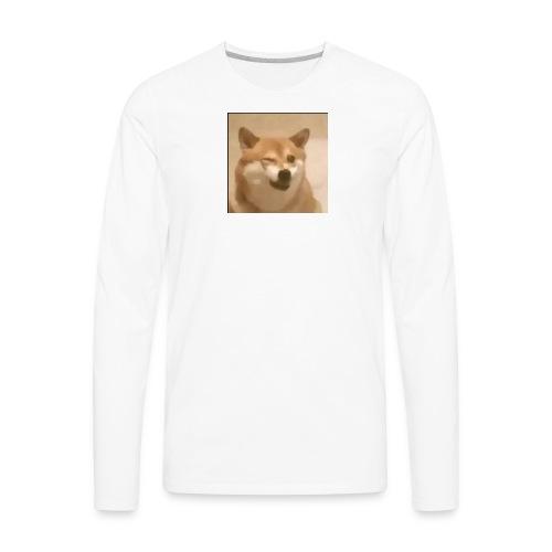 DOGE WINK - Men's Premium Long Sleeve T-Shirt