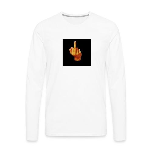 I am the boss - Men's Premium Long Sleeve T-Shirt