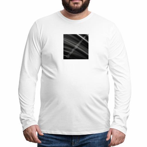 Clarinet · Black & White - Men's Premium Long Sleeve T-Shirt