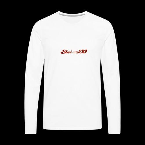 The Sleekcat100 - Men's Premium Long Sleeve T-Shirt