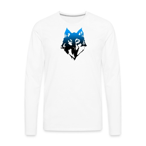 Faded wolf - Men's Premium Long Sleeve T-Shirt