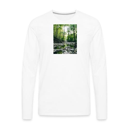 Forest Reflections - Men's Premium Long Sleeve T-Shirt