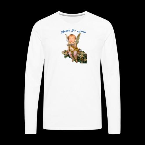 Peace and Love - Men's Premium Long Sleeve T-Shirt