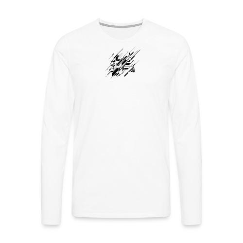 Abstract GG - Men's Premium Long Sleeve T-Shirt
