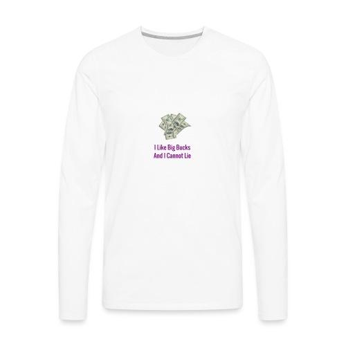 Baby Got Back Parody - Men's Premium Long Sleeve T-Shirt