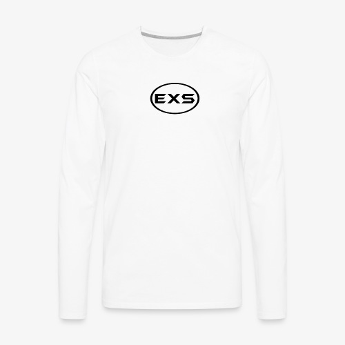 EXS Apparel Logo - Men's Premium Long Sleeve T-Shirt