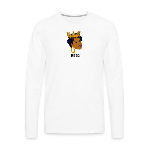 Mood   Black Girl Magic - Men's Premium Long Sleeve T-Shirt