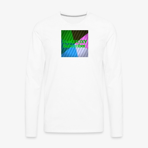 15550000333333333222222266666667777777222222221234 - Men's Premium Long Sleeve T-Shirt