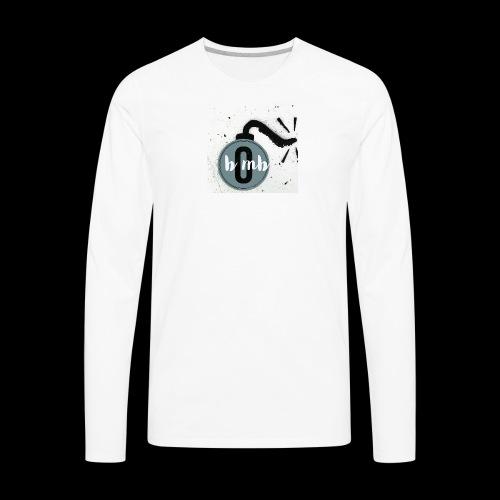 Stylized Bomb - Men's Premium Long Sleeve T-Shirt