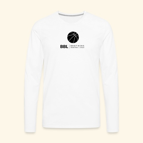 Brothers Basketball design - Men's Premium Long Sleeve T-Shirt