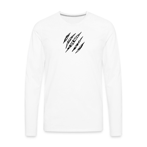 EYE OF THE TIGER RIP LINE - Men's Premium Long Sleeve T-Shirt