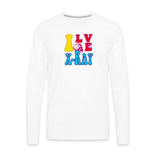 I Love X-Ray - Men's Premium Long Sleeve T-Shirt