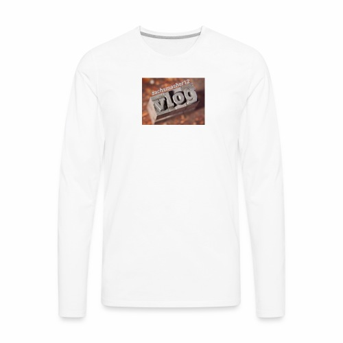 Vlog - Men's Premium Long Sleeve T-Shirt