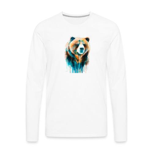 grizzly bear - Men's Premium Long Sleeve T-Shirt