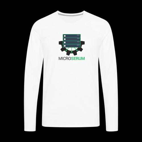 microserum 3 - Men's Premium Long Sleeve T-Shirt