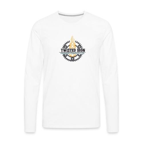 Twisted Iron Farming Co - Men's Premium Long Sleeve T-Shirt