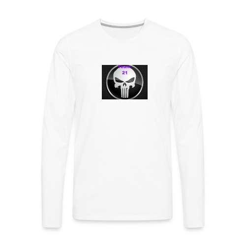Team 21 white - Men's Premium Long Sleeve T-Shirt