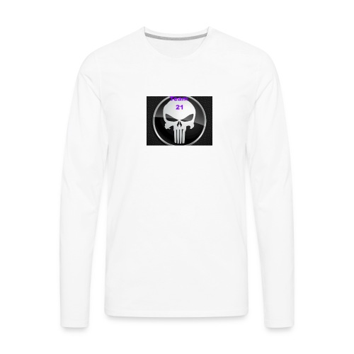 Team 21 white - Men's Premium Long Sleeve T-Shirt