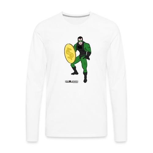 Superhero 4 - Men's Premium Long Sleeve T-Shirt